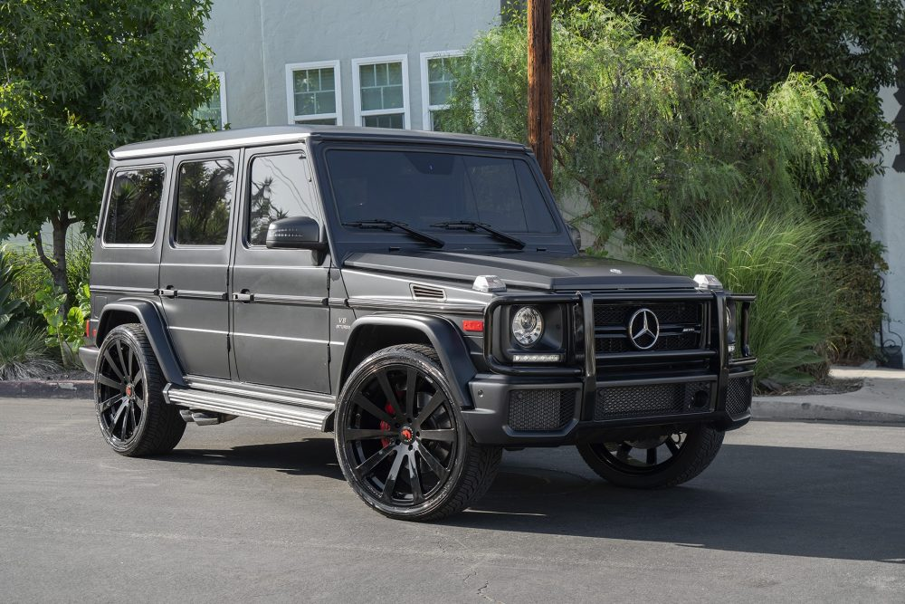 Mercedes benz g wagon for Top mercedes benz dealerships